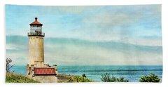 North Head Lighthouse Beach Towel
