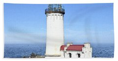 North Head Lighthouse Beach Towel