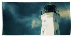 North Point Lighthouse Beach Towel