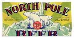 North Pole Beer Beach Sheet