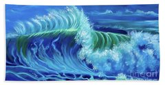 North Shore Wave Hawaii Jenny Lee Discount Beach Towel