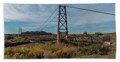 North Span, Yuma Bridge To Nowhere Beach Towel