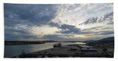 North Vancouver And Vancouver Beach Towel