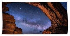 North Window Milky Way Beach Towel