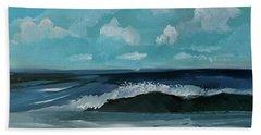 Northeast Atlantic View  Beach Towel