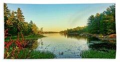 Northern Ontario Lake Beach Sheet