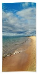 Beach Towel featuring the photograph Northern Shore by Michelle Calkins