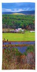 Northern Vermont Vista Beach Sheet
