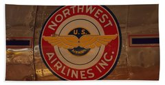 Northwest Airlines 1 Beach Sheet