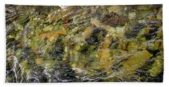 Norwegian Stream Beach Towel