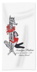 Beach Towel featuring the digital art Nostalgia by ReInVintaged
