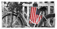 Nostalgic Collection-b And W Beach Towel