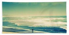 Nostalgic Oceanside Oregon Coast Beach Sheet