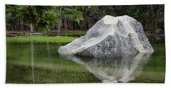 Not An Iceberg Beach Towel by Debby Pueschel