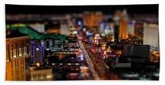 Not Everything Stays In Vegas - Tiltshift Beach Towel