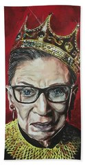 Notorious Rbg Beach Towel
