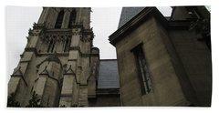 Notre Dame Paris Southwest Beach Towel