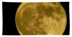 November Full Moon Beach Sheet