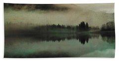 November Lake Beach Towel by AugenWerk Susann Serfezi