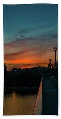 November, Mast Blvd Bridge Beach Towel
