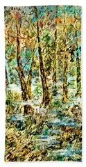 November Morn Beach Towel