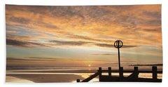 November Sunrise Beach Towel