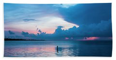 Now The Day Is Over Beach Towel