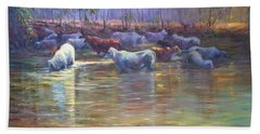 Nt Water Hole Beach Towel