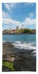 Nubble Light IIi Beach Towel