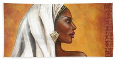 Nubian Beauty Beach Towel