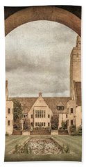 Oxford, England - Nuffield College Beach Towel