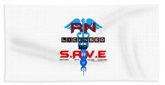 Nurses Licensed To Save Beach Sheet
