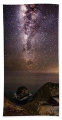 Nusa Penida Beach At Night Beach Sheet