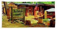 Nuthatch Studio Beach Towel