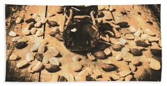 Nuts About Vintage Still Life Art Beach Towel