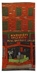 N.w.barrett Gallery Beach Towel