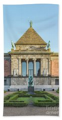 Beach Towel featuring the photograph Ny Carlsberg Glyptotek In Copenhagen by Antony McAulay