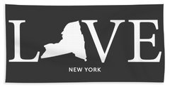 Ny Love Beach Towel