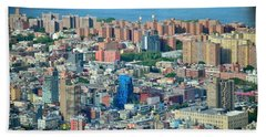 NYC Beach Towel by Sandy Taylor