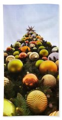 O Christmas Tree Beach Sheet