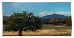 Oak And Cuyamaca Beach Towel