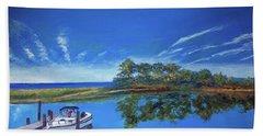 Oak Bluffs With Grady White Beach Sheet