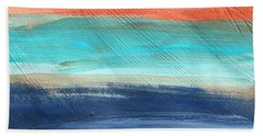 Oak Creek #27 Southwest Landscape Original Fine Art Acrylic On Canvas Beach Towel
