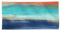 Oak Creek #27 Southwest Landscape Original Fine Art Acrylic On Canvas Beach Sheet