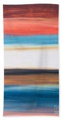 Oak Creek #29 Southwest Landscape Original Fine Art Acrylic On Canvas Beach Sheet