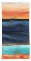 Oak Creek #31 Southwest Landscape Original Fine Art Acrylic On Canvas Beach Towel