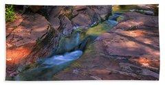 Oak Creek Canyon Splendor Beach Towel