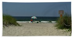 Oak Island Beach Vacancy Beach Towel