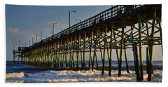 Oak Island Pier 2015 Beach Towel