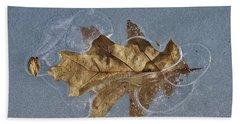 Oak On Ice Beach Sheet